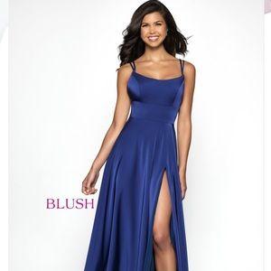 Sapphire Blush Gown